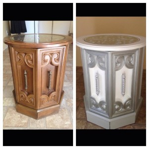 Spanish end table 3